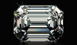เพชรสี่เหลี่ยม Emerald Cut Diamond