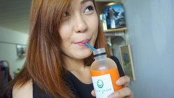 review : ดื่มน้ำผลไม้สกัดเย็น 100% organic cold pressed