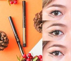 ♥♥How To♥♥ เขียนอายไลเนอร์ 3 สไตล์ ด้วย 1028 Ultimate Super Black Eyeliner