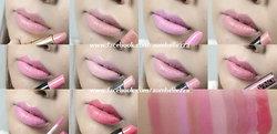 10 ลิปสติกสีชมพู ราคาถูกใจ  ทาแล้วสวยฉ่ำหวานทันที [Top 10 :: Pink Lipsticks ]