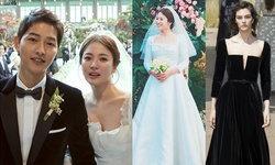 ส่องความไฮโซ ชุดแต่งงานแบรนด์ดังระดับโลก ซงฮเยคโย เจ้าสาว ซงจุงกิ