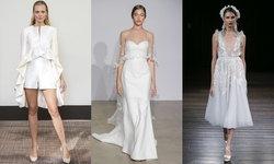 8 เทรนด์ชุดแต่งงานมาแรงในปี 2018 จากรันเวย์ Bridal Fashion Week