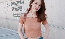 20 แฟชั่น เสื้อครอปยางยืด สวยชิค แอบเซ็กซี่ ของเหล่าไอดอล-วัยรุ่นไทย