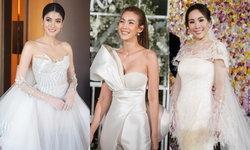 เก็บตก 3 เจ้าสาว กับชุดแต่งงานสวย หรู ในคืนคริสต์มาสอีฟ