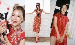 ตรุษจีนนี้เราจะสวยและเฮงมาก รวมไอเดียแต่งชุดแดงต้อนรับวันตรุษจีน