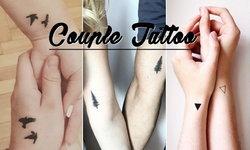 รวม 25 ไอเดียรอยสักชิคๆ Couple Tattoo รอยสักที่คนมีคู่สักกัน