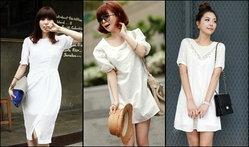 แฟชั่นเสื้อผ้าสีขาวใส่ดูดีมีสไตล์