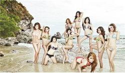 สาวสวย 10 คนสุดท้ายจาก RUSH The Perfect iDol 2011