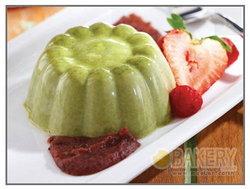 Matcha Green Tea Pudding