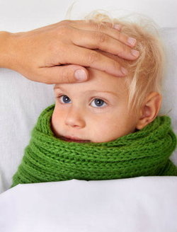 ลูกน้อยเป็นหวัดหรือภูมิแพ้กันแน่
