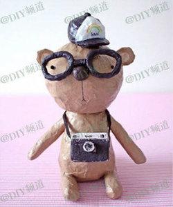 DIY - หมีน้อยทำมือน่ารักไม่ซ้ำแบบใคร
