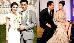 ชุดแต่งงานสวยหวานงานแต่งวุ้นเส้น - ชาคริต