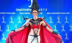 เปิดตัว ชุดประจำชาติไทย โลหะพัตรา เวที มิสยูนิเวิร์ส 2012