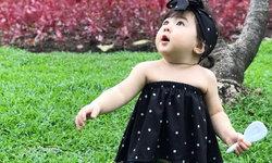 แฟชั่นจัดว่าน่ารักมาก ของพลอยเจ ลูกสาวเจ จินตัย