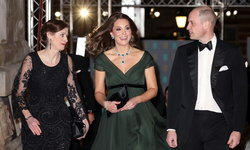 อดใส่สีดำ! 'เจ้าหญิงเคท' กับฉลองพระองค์สีเขียวเข้ม เสด็จเข้าร่วมงาน BAFTA
