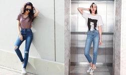 ขาใหญ่แล้วไงอ่ะ 25 ไอเดียแมทช์ Skinny Jeans แต่งกับอะไรก็เข้า