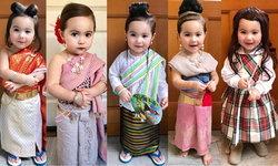 ออเจ้าน่ารักอ่ะ! น้องหรรษา ลูกครึ่งไทย-ฝรั่งเศส แต่งเป็นแม่หญิงทั้ง 5 ในบุพเพสันนิวาส