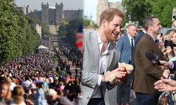 ส่งตรงจากลอนดอน ประชาชนเฝ้ารอรับเสด็จเจ้าชายแฮร์รี่เนืองแน่น