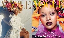 """""""บียอนเซ่"""" Vs. """"ริฮานน่า"""" ผู้หญิงผิวสีบนปก Vogue ฉบับสุดเลอค่าแห่งปี"""