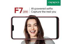 OPPO F7 ที่สุดแห่งสมาร์ทโฟนสำหรับสายเซลฟี่กล้องหน้า 25 MP พร้อม AI Beauty 2.0