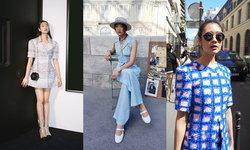 """อัปเดตแฟชั่นลุคโกอินเตอร์ของ """"ออกแบบ ชุติมณฑน์"""" สวยโก้สไตล์สาว Chanel"""
