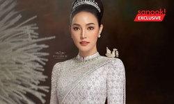เมย์ พิชญ์นาฏ สลัดลุคเปรี้ยว เป็นหญิงไทยสวยคมในชุดแต่งงานอลังการ