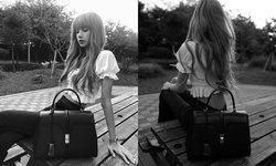 """""""ลิซ่า BLACKPINK"""" เซเลบคนต่อไปของกระเป๋า Celine สวยไม่ไหวแล้ว"""