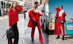 Red outfit แฟชั่นสีแดง สีเดียวจบ สะกดทุกสายตา!