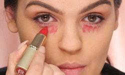 How to ปิดใต้ตาคล้ำด้วยลิปสติก ไม่พึ่งคอนซีลเลอร์ ทำเองได้ไม่ยาก!