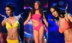 เก็บตกลีลาเดินสับขาในชุดว่ายน้ำของผู้เข้ารอบ 10 คนสุดท้าย Miss Universe 2018