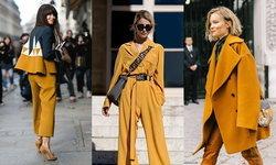 ไอเดียเสื้อผ้าสีเหลืองมัสตาร์ด สวยชิคท้าลมหนาว!