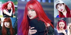 ไอเดีย สีผม Red Hair คือสวย หน้าผ่องมาก