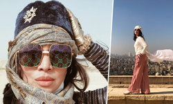 """จัดเต็ม! """"สุพรทิพย์ ช่วงรังษี"""" โพสต์รูปสวยเป๊ะ หน้า """"พีระมิด"""" ในอียิปต์"""