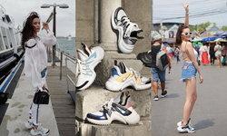 พาดูสตรีทแฟชั่นแมทช์ Louis Vuitton Archlight Sneakers ให้เข้ากับทุกสไตล์