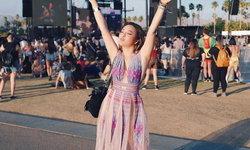 """เมื่อ """"นุ่น NOBLUK"""" เลือกใส่ผ้าไทยไปงาน """"Coachella"""" เทศกาลดนตรีระดับโลก!"""