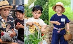 """""""ครอบครัวดารา"""" ฮิตสอนลูกปลูกผักกินเอง ให้ลูกเห็นคุณค่าของอาหาร และสุขภาพดี"""
