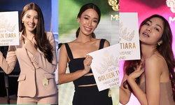 """""""มิสยูนิเวิร์สไทยแลนด์ 2019"""" ในรอบคัดเลือก กับ 8 สาวงามที่ คว้า Golden Tiara Ticket"""