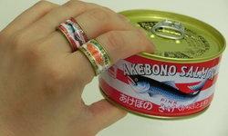 """""""คอลเลกชั่นแหวนอาหารกระป๋อง"""" กาชาปองเก๋ๆ จากบริษัทอาหารทะเล Maruha Nichiro"""