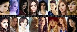 100 อันดับสาวหน้าสวยที่สุดในโลก ประจำปี 2556