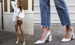 แฟชั่นรองเท้าขาว รอดทุกชุด ใส่ได้ทุกงาน!