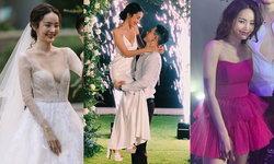 """4 ชุดแต่งงาน """"ปุ้มปุ้ย พรรณทิพา"""" เจ้าสาวของ """"กวินท์ ดูวาล"""" ทั้งสวย หวาน และเผ็ดมาก"""