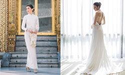 """""""ศรีริต้า เจนเซ่น"""" กับ 2 ชุดเจ้าสาวสุดงดงาม ชุดไทยสง่า และชุดหมั้นเรียบหรู"""
