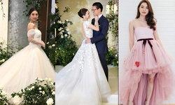 """""""มิว นิษฐา"""" กับ 7 ชุดแต่งงาน เรียบหรู คลาสสิก สวยหวานทุกลุค"""