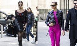 รวมลุคนางแบบตัวแม่ ก่อนเดินแฟชั่นโชว์ Versace Fall/Winter 2020