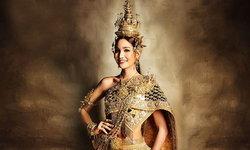 """""""เดียร์ ฤทัยปรียา"""" ในชุดประจำชาติไทย เตรียมอวดโฉมเวที Miss International Queen 2020"""