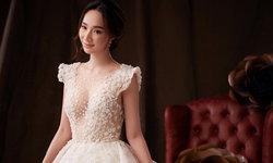 """""""มิ้นท์ ณัฐวรา"""" สวยสง่าดุจเจ้าหญิงในเทพนิยาย กับชุดแต่งงานอลังการ"""