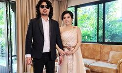"""""""กานต์ วิภากร"""" ภรรยา """"เสก โลโซ"""" งดงามกับชุดไทยประยุกต์ ในงานแต่งงานช่วงเช้า"""
