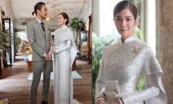 """""""ก้อย รัชวิน"""" ในลุคชุดไทยบรมพิมาน งานปักคริสตัลสุดหรู ราคา 3 แสนบาท"""