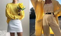 คนขี้หนาวมาทางนี้! เสื้อสีเหลืองน่ารักๆ ใส่กันหนาวในห้องแอร์!