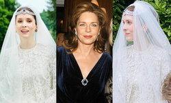 เจ้าหญิงไรยาห์แห่งจอร์แดน สวมเฮดพีชเพชรอดีตเข็มกลัดของควีนนูร์ ในวันแต่งงาน